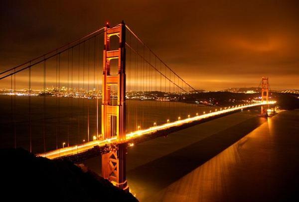 Cầu Kim Môn (Cầu Cổng Vàng), San Francisco