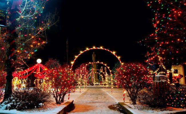 Giáng sinh ở Chicago, Mỹ