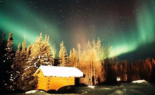 Cảnh đẹp mùa đông nước Mỹ