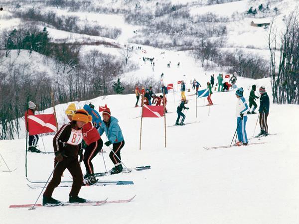 trượt tuyết mùa đông ở Mỹ