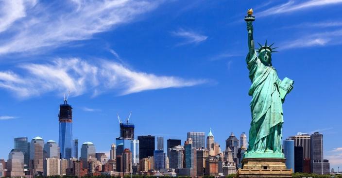 Khám Phá nước Mỹ, tượng nữ thần tự do